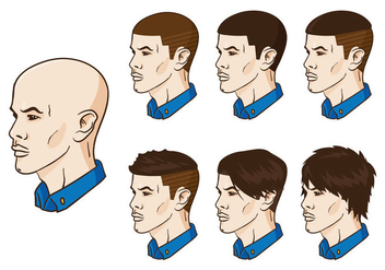 Vector Hair Grow Up - Kostenloses vector #369335