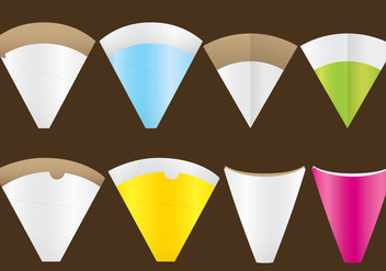 Crepe Holders - vector #369545 gratis