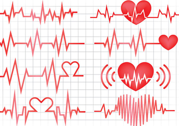 Free Heart Monitor Icons Vector - Free vector #369625