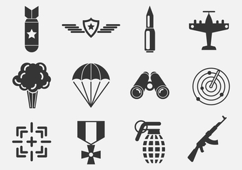 Free World War Vector Icons - vector gratuit #370005