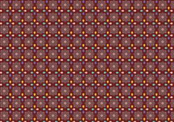 Petal Mosaic Pattern - Free vector #370045