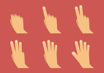 Vector Hand Symbols - Free vector #370865