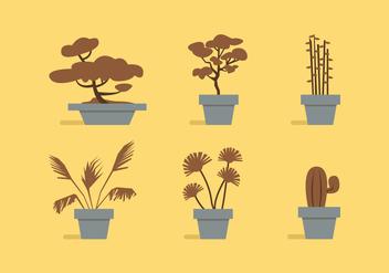 Vector Plants - Free vector #370875