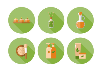 Vector Spa Icon Set - vector #370885 gratis
