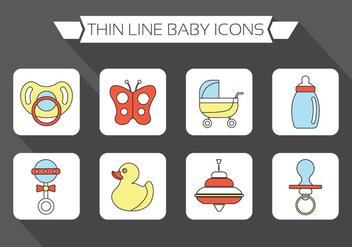 Baby Vector Elements - Free vector #370945