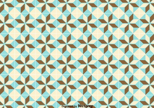 Simple Geometric Pattern/Tiles Pattern - Free vector #371185