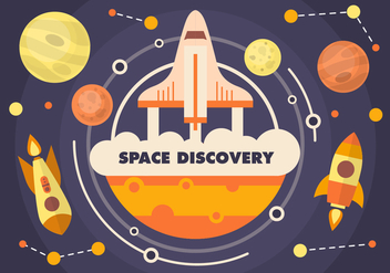 Free Space Discovery Vector - Kostenloses vector #371895