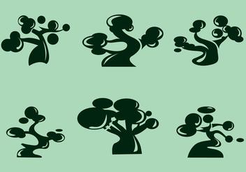 Baobab Vector - vector #372195 gratis