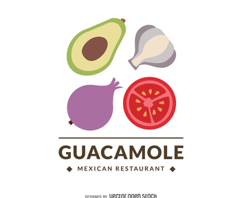 Mexican restaurant logo - Free vector #372275