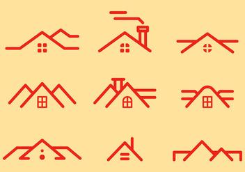 Free Rooftops Vector 1 - Kostenloses vector #372405