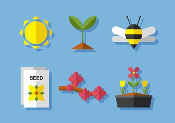 Vector Spring Season - бесплатный vector #372575