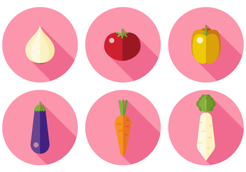 Vector Vegetables - vector gratuit #372585