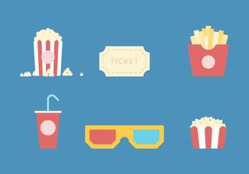Free Popcorn Vector 1 - Kostenloses vector #373275