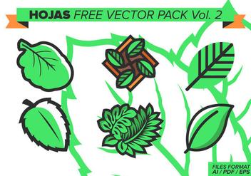 Hojas Free Vector Pack Vol. 2 - Kostenloses vector #373405