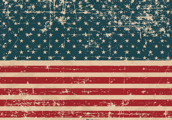 Patriotic Grunge Background - Free vector #373795