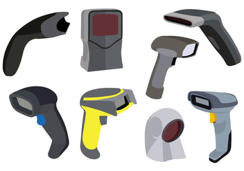 Free Barcode Scanner Vector - Free vector #373835