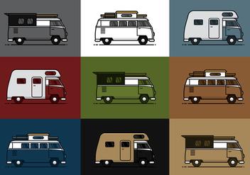 VW CAMPER VECTOR - Free vector #373915