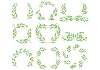 Eucalyptus frame - Free vector #374245