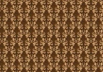 Free Vector Brown Western Flourish Pattern - vector gratuit #374255