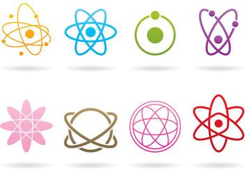 Atom Logos - Free vector #374665