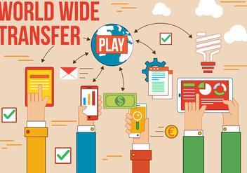 Free World Wide Vector Transfer - vector #375195 gratis
