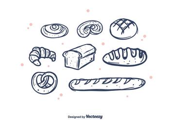 Bakery Vector - Kostenloses vector #375335