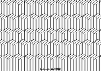Monochrome Vector Pattern - Free vector #375445