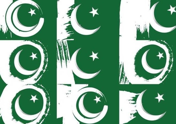 Pakistan Flag - vector gratuit #375635