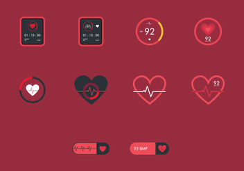 Heart Monitor - vector #375765 gratis
