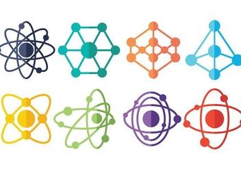 Free Atomium Icons Vector - бесплатный vector #376185