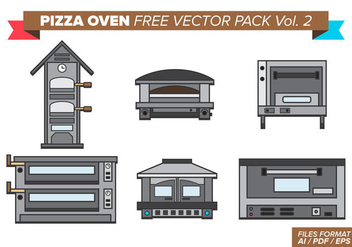 Pizza Oven Free Vector Pack Vol. 2 - Free vector #377175