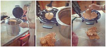 Making Waffles Norwegian Style - image gratuit #377215