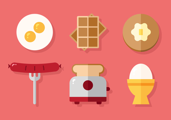 Vector Breakfast Menu - vector gratuit #377625
