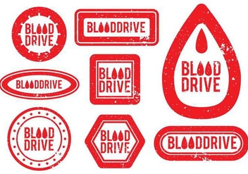 Blood Drive Vector - vector gratuit #377805