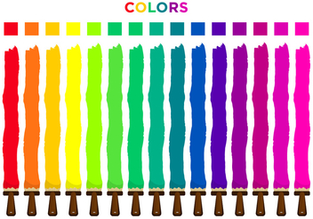 Color Picker Set - Free vector #377945