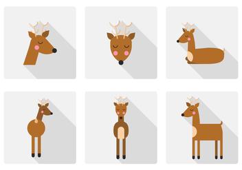 Vector Deer - Free vector #378095