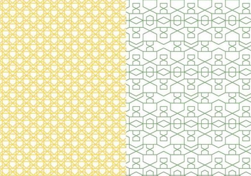 Outlined Geometric Pattern - vector gratuit #378365