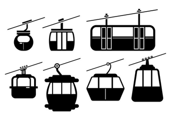 Cable Car Vector - vector gratuit #378605