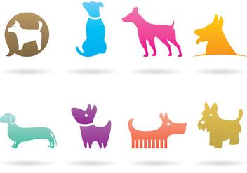 Dog Logo Vectors - Free vector #378825