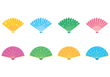 Free Spanish Fan Vector - Free vector #378875