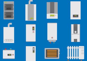Water Heater - Kostenloses vector #379415