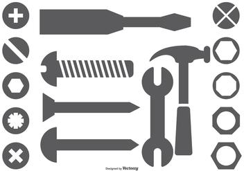 Vector Tool Shapes - Kostenloses vector #379425