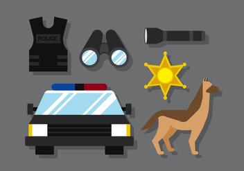 Vector Police - vector gratuit #380365