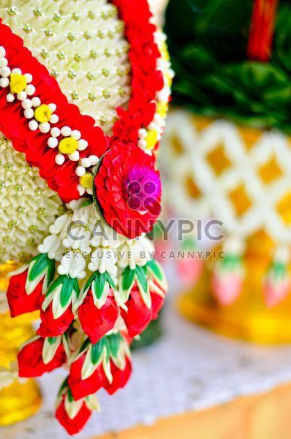 Fleurs # belle # # coloré nature # guirlande # Rose - Free image #380485