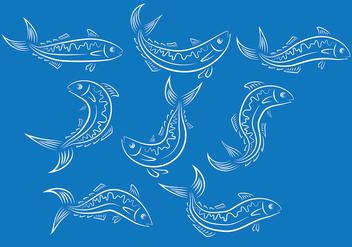 Mackerel Fish Vector Ions - vector gratuit(e) #380535