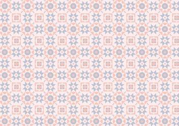 Mosaic Pink Pastel Pattern - Free vector #381155