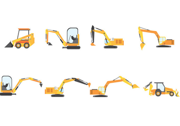 Free Construction Vehicle - Free vector #381235