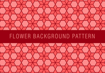 Flower Chainmail Pattern - vector gratuit #381445
