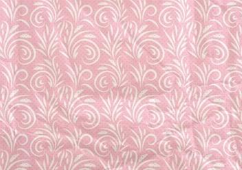 Pink Vector Western Flourish Seamless Pattern - vector gratuit #382005