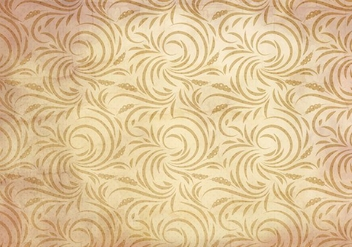 Free Vector Western Flourish Seamless Pattern - Free vector #382035